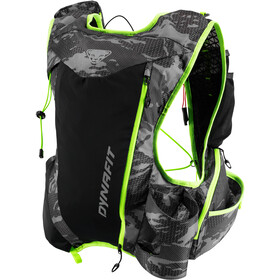 Dynafit Sky Up Pro Sac à dos 12l, black out camo/fluo yellow